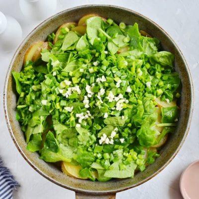 Spinach and Potato Frittata recipe - step 3