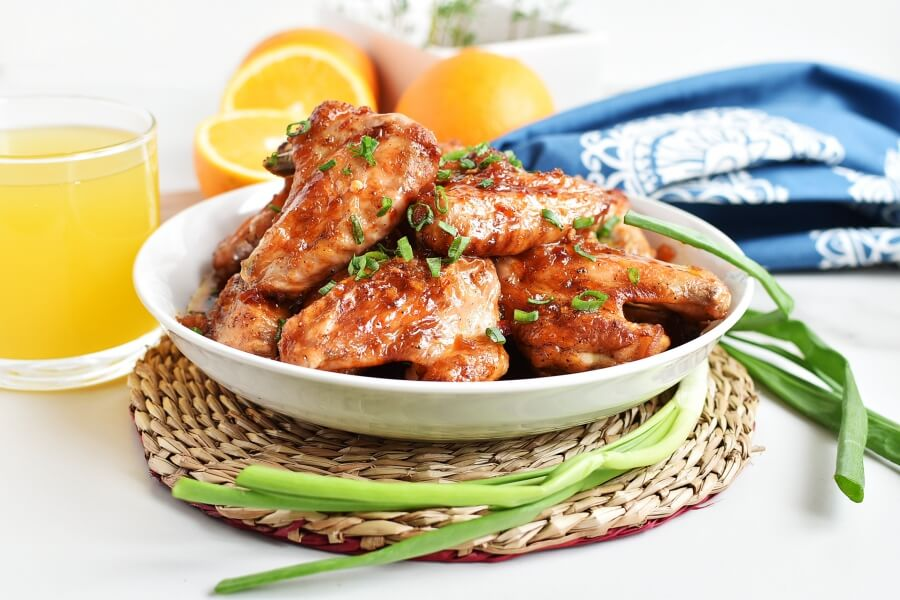 How to serve Sunkist Wings