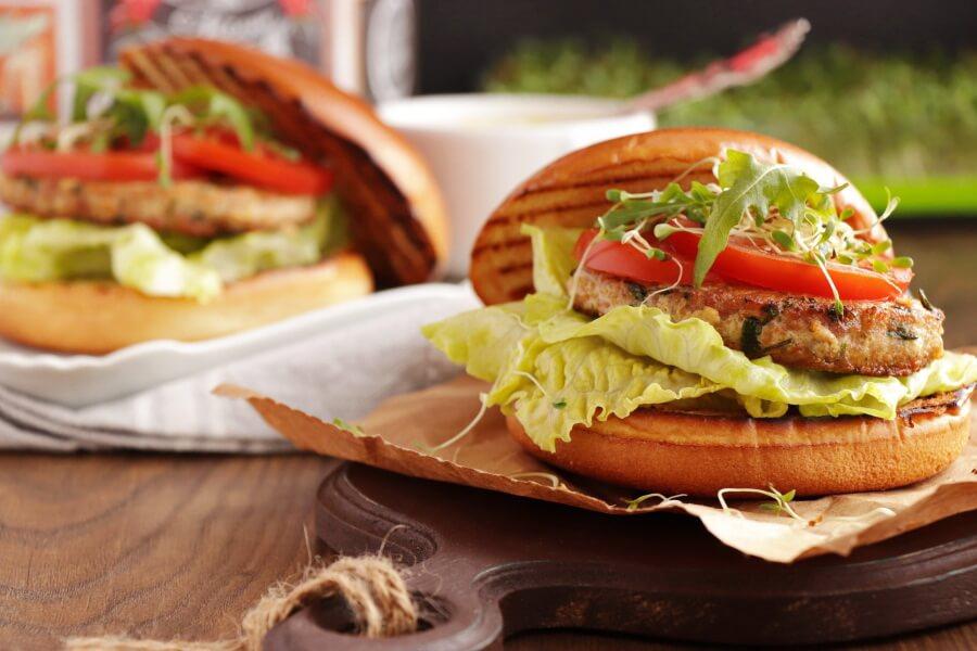 Tangy Tuna Burgers Recipe-Best Tuna Burgers-Easy Homemade Tuna Burgers