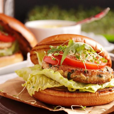 Tangy Tuna Burgers Recipe-Best Tuna Burgers-Easy Homemade Tuna Burgers