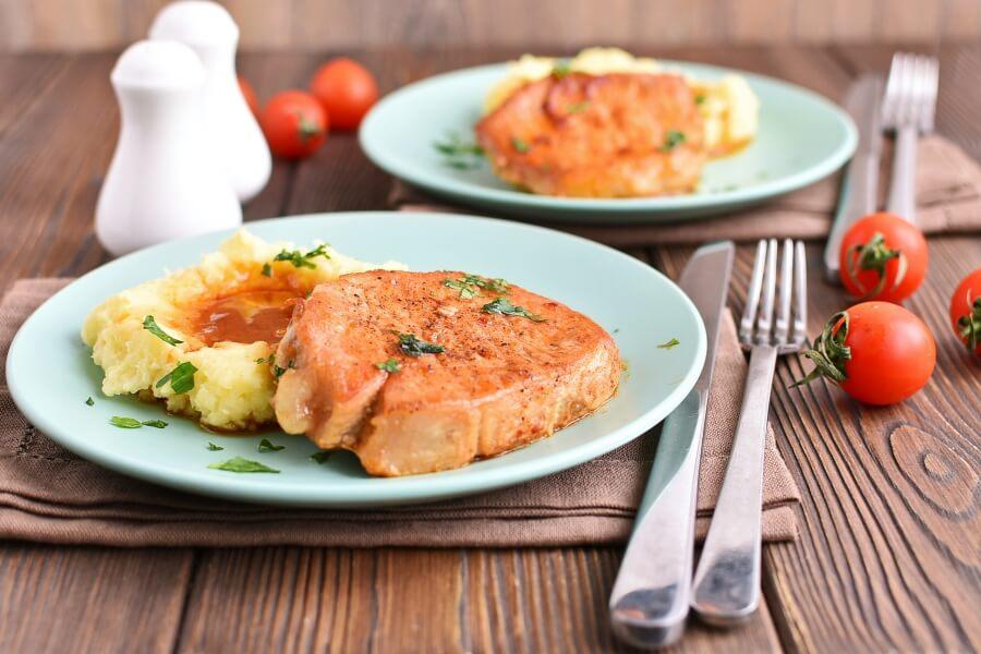 The Best Juicy Skillet Pork Chops Recipes-Homemade The Best Juicy Skillet Pork Chops- DeliciousThe Best Juicy Skillet Pork Chops
