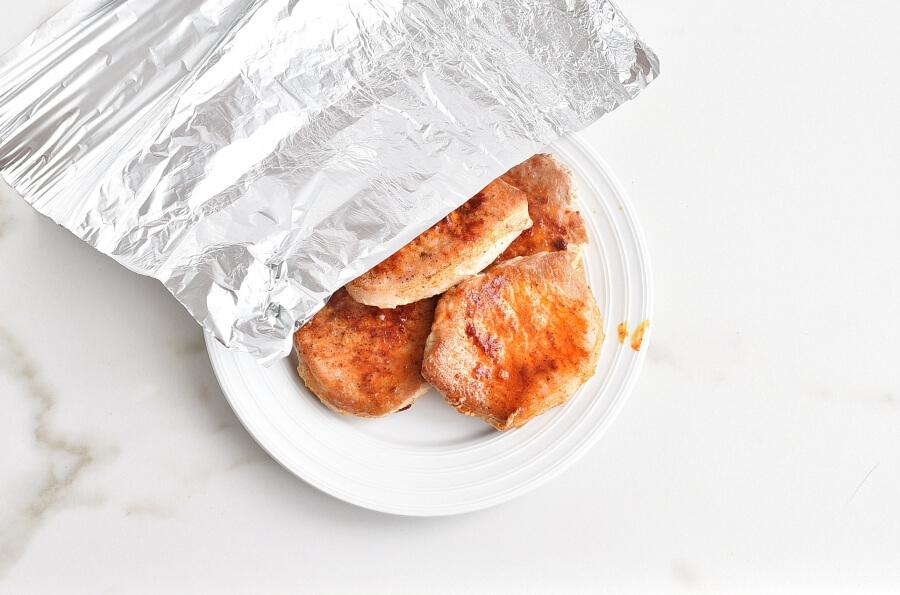 The Best Juicy Skillet Pork Chops recipe - step 6