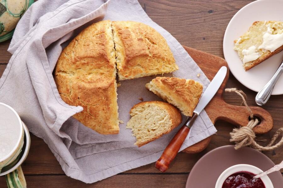 How to serve Traditional Irish Soda Bread