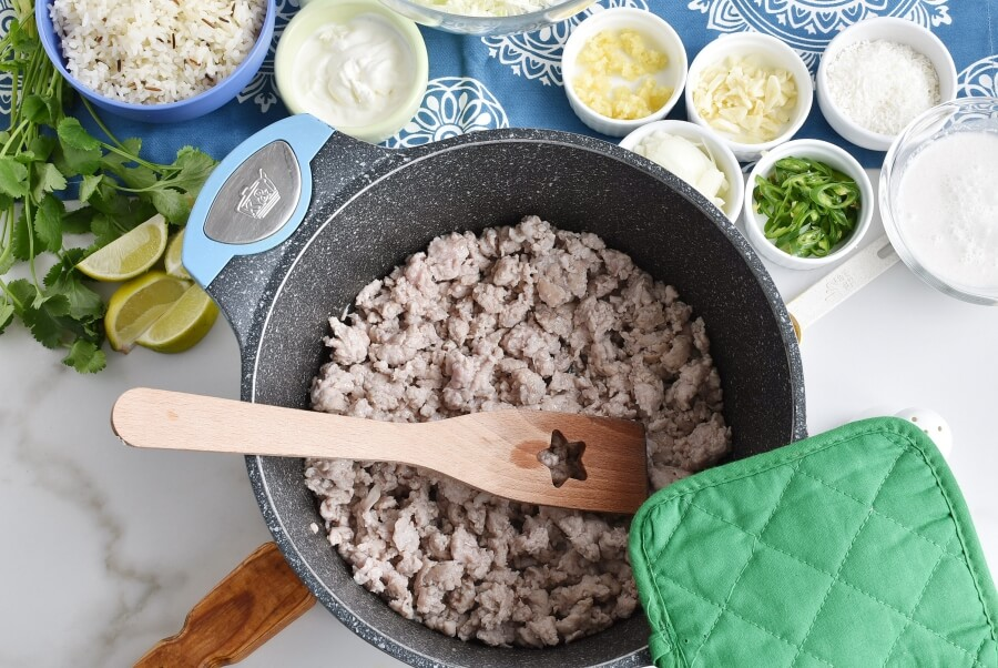 Turmeric Coconut Curry with Pork recipe - step 2
