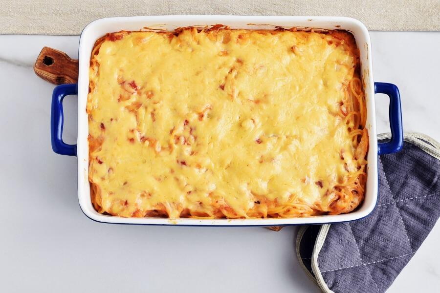 Ultimate Chicken Spaghetti recipe - step 9