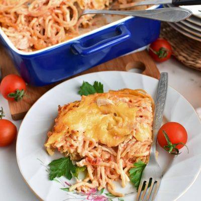 Ultimate Chicken Spaghetti Recipe-Homemade Ultimate Chicken Spaghetti-Delicious Ultimate Chicken Spaghetti