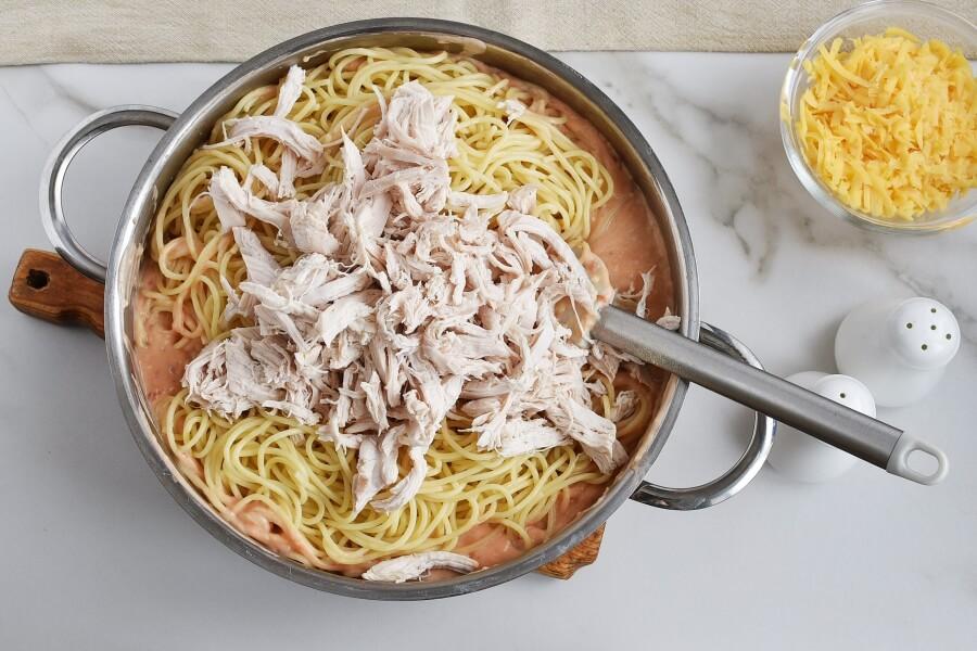 Ultimate Chicken Spaghetti recipe - step 7