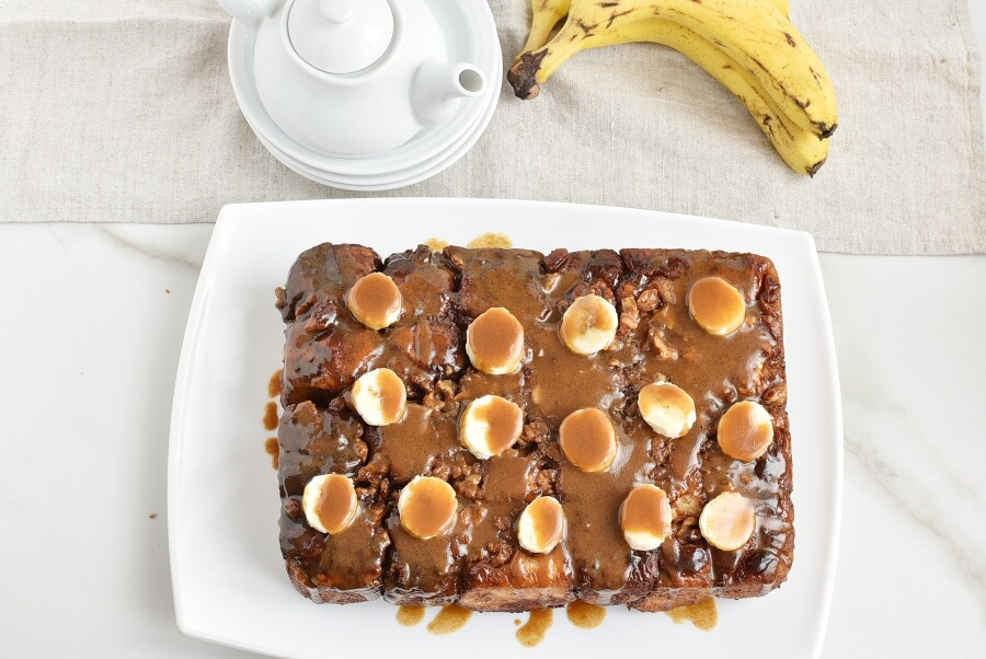 How to serve Upside-Down Banana Monkey Bread