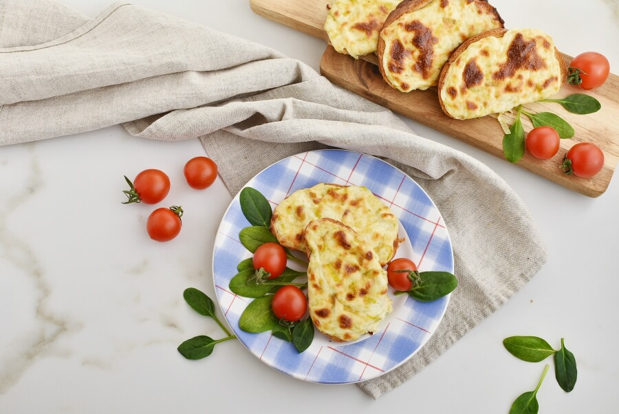 How to serve Welsh Leek and Cheese Rarebit