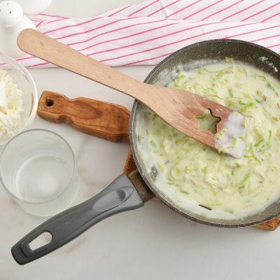 Welsh Leek and Cheese Rarebit recipe - step 3