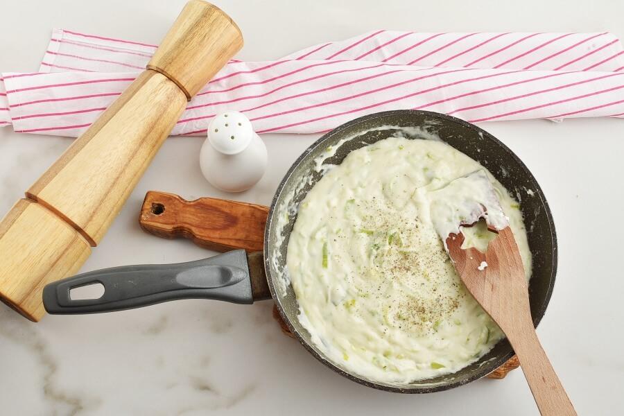 Welsh Leek and Cheese Rarebit recipe - step 5