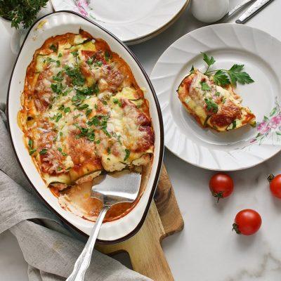 Zucchini Manicotti Recipes-Homemade Zucchini Manicotti-Easу Zucchini Manicotti
