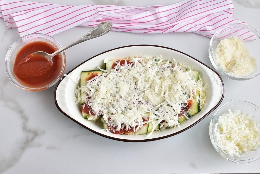 Zucchini Manicotti recipe - step 5