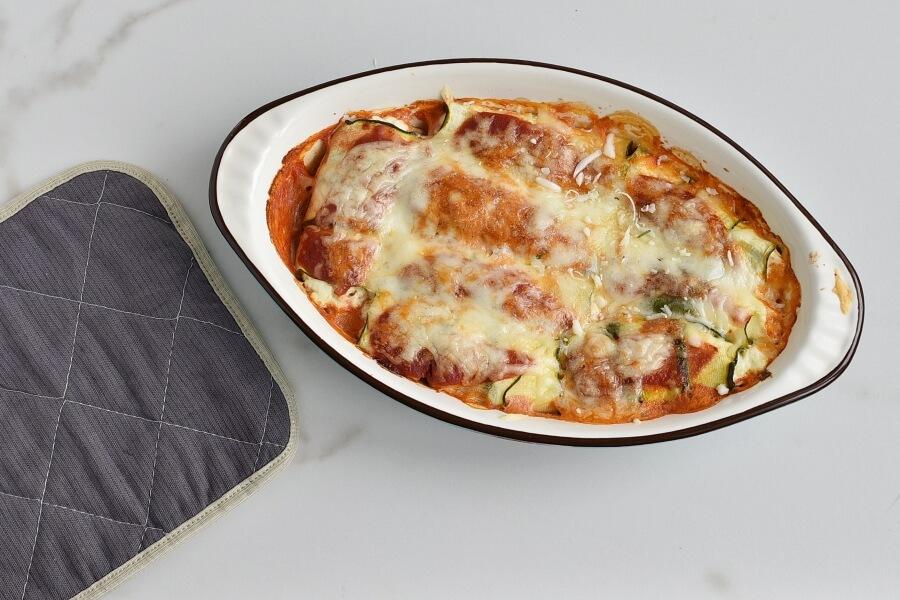 Zucchini Manicotti recipe - step 6