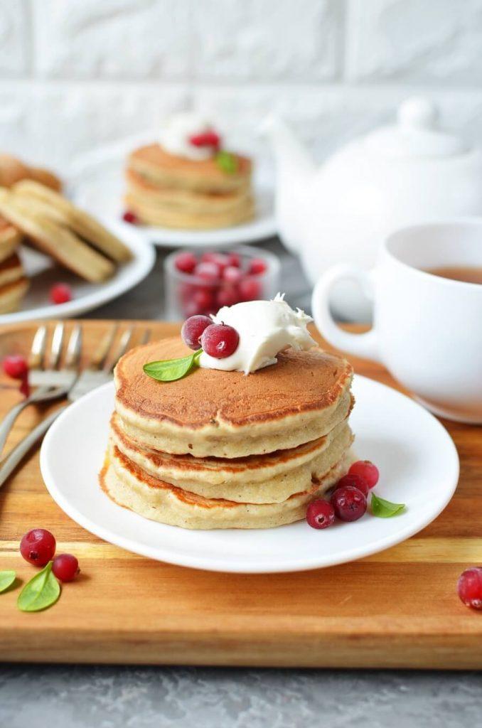Apple Sultana Pancakes