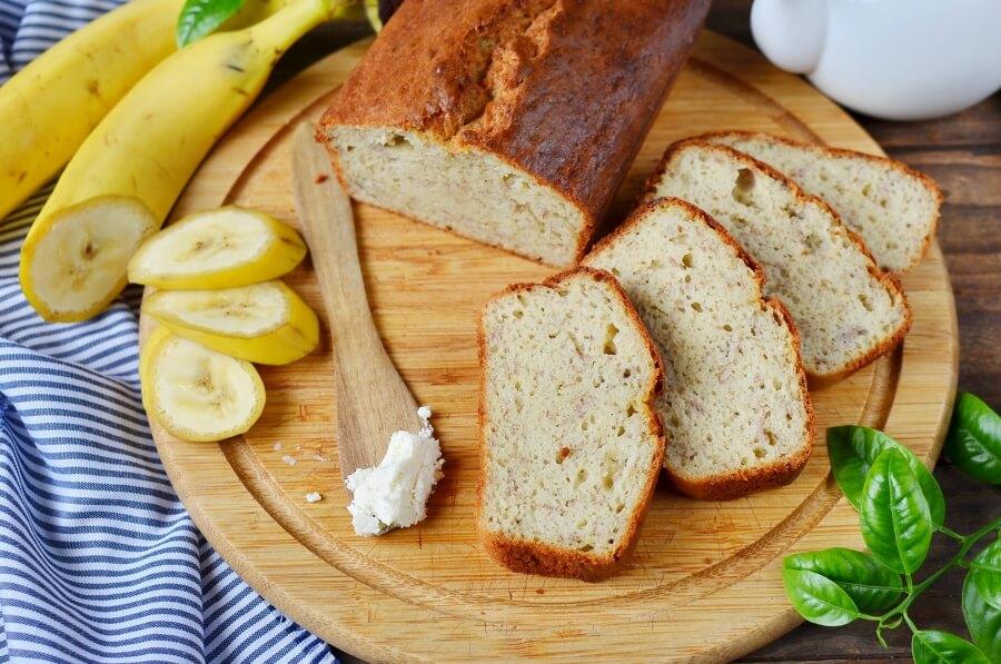 Banana, coconut & cardamom bread Recipe-How To Make Banana, coconut & cardamom bread-Delicious Banana, coconut & cardamom bread