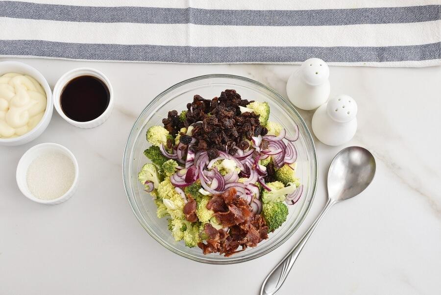 Broccoli Salad with Bacon recipe - step 3