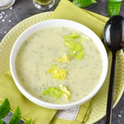 Celery Soup Recipe-How To Make Celery Soup-Delicious Celery Soup