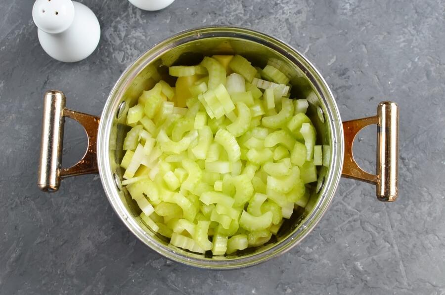 Celery Soup recipe - step 1