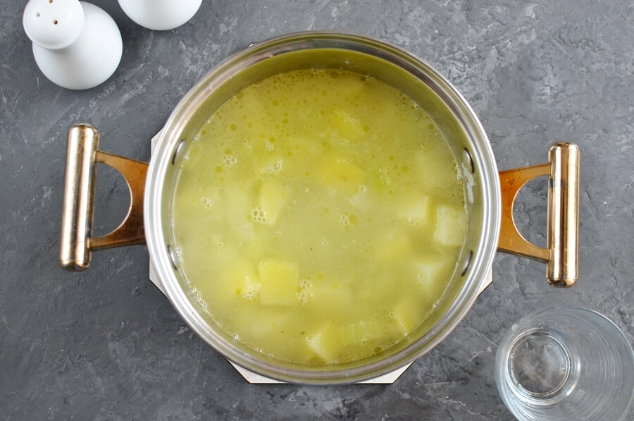 Celery Soup recipe - step 2