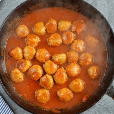 Chicken Pesto Meatballs recipe - step 5