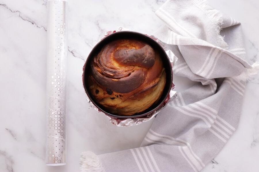 Easter Bread: Kulich-Cruffin recipe - step 9
