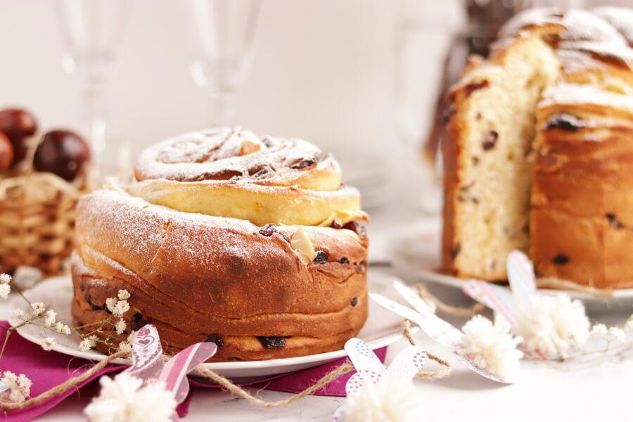 Easter Bread Kulich-Cruffin Recipe-Easter Bread Kulich-Cruffin-Easter Bread