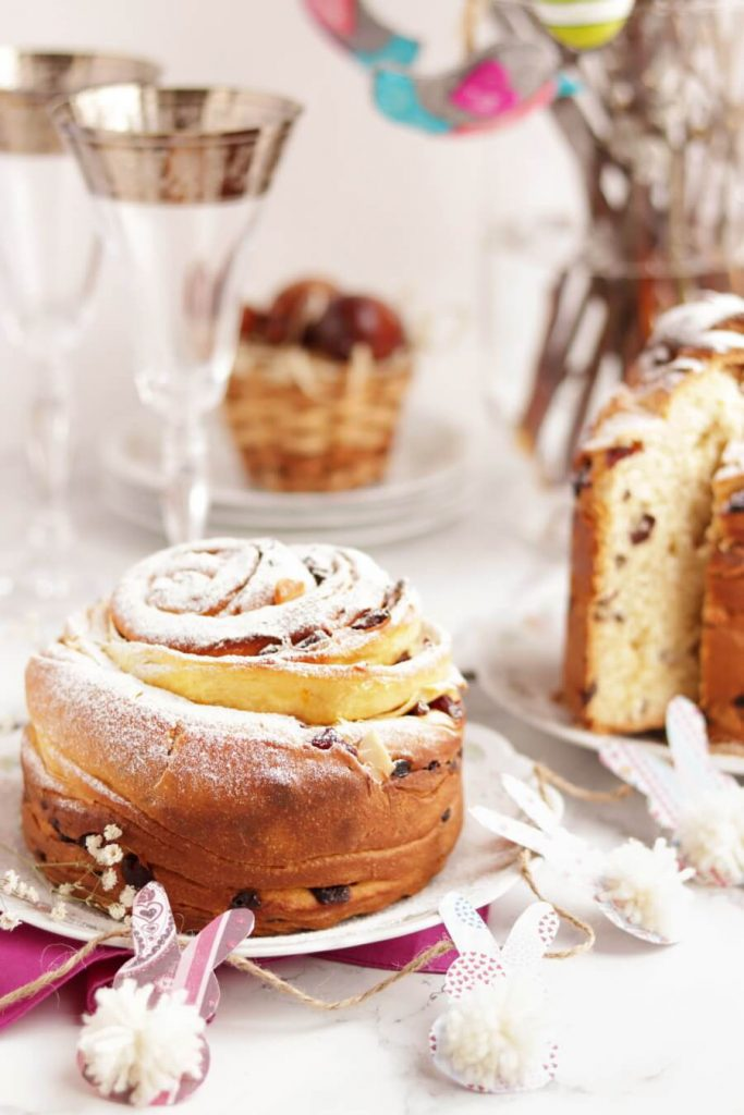 Easter Bread Kulich-Cruffin Recipe-Easter Bread Kulich-Cruffin-Easter Bread