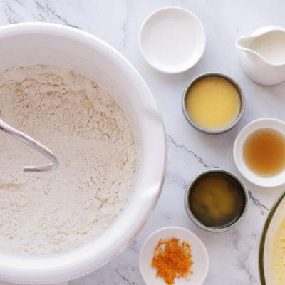 Easter Bread: Kulich-Cruffin recipe - step 3