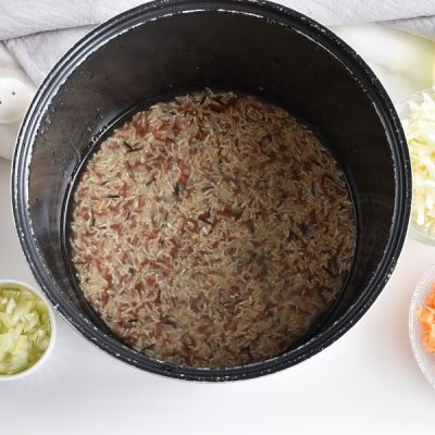 Easy and Healthy Vegetable Fried Rice recipe - step 1