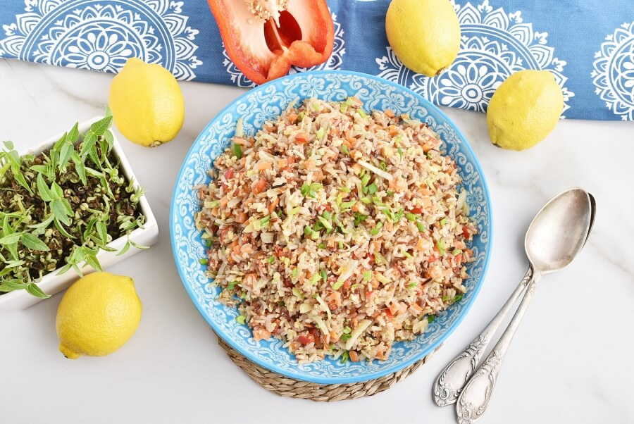 How to serve Easy and Healthy Vegetable Fried Rice