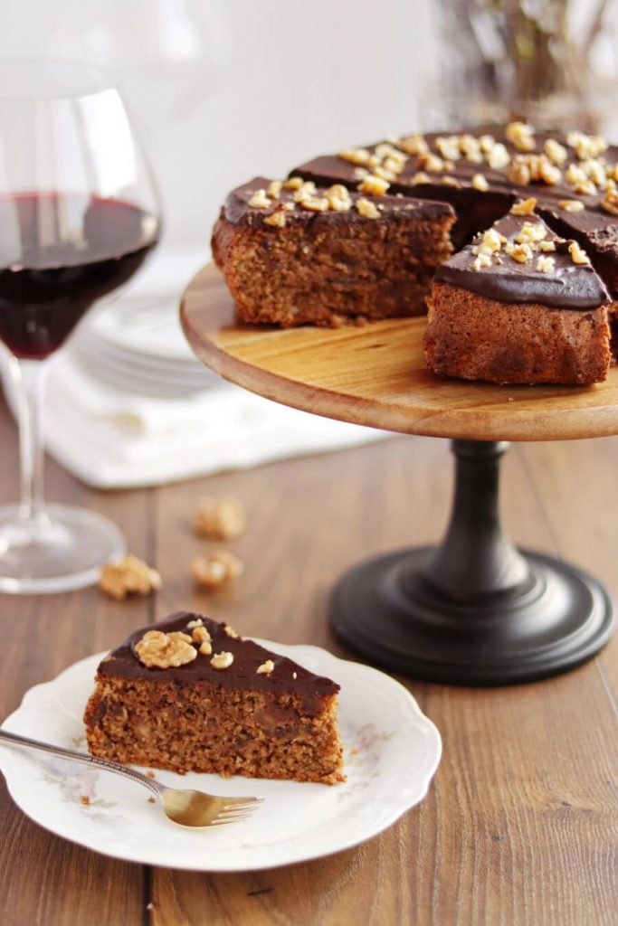 Flourless, Citrus, Chocolate and Nut Cake