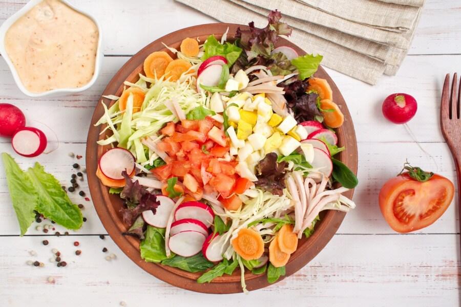 Garden-Fresh Chef Salad recipe - step 1