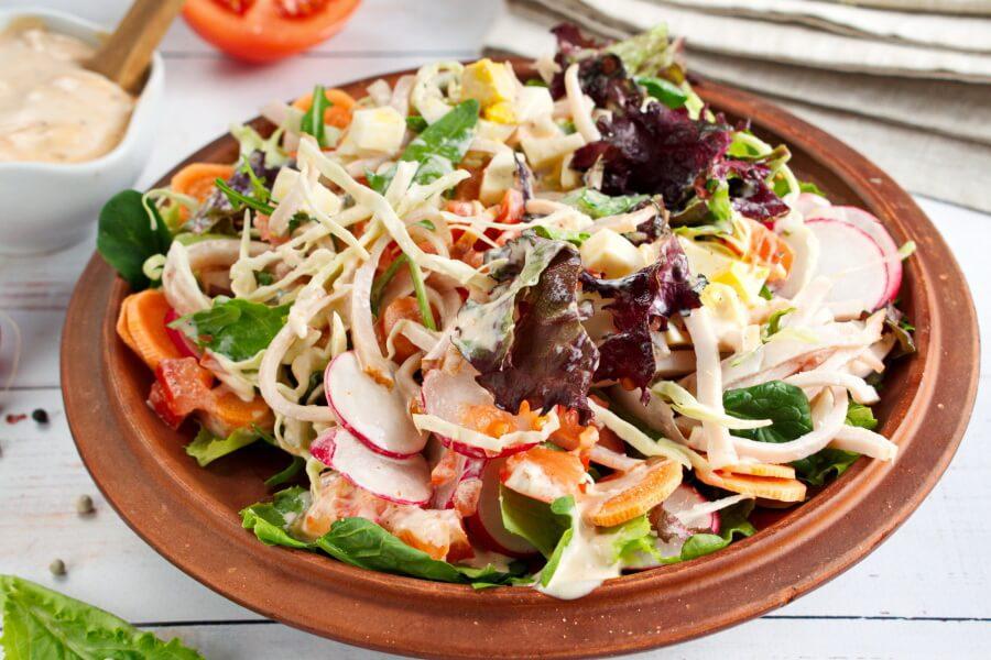 Garden-Fresh Chef Salad recipe - step 3