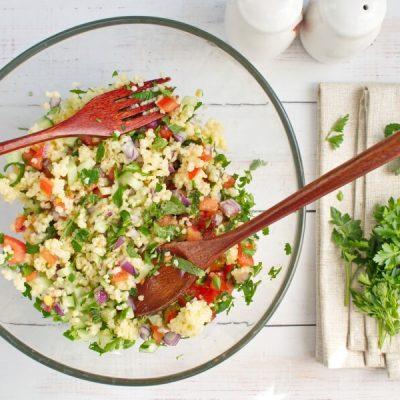 Gluten Free Millet Tabbouleh Salad recipe - step 3