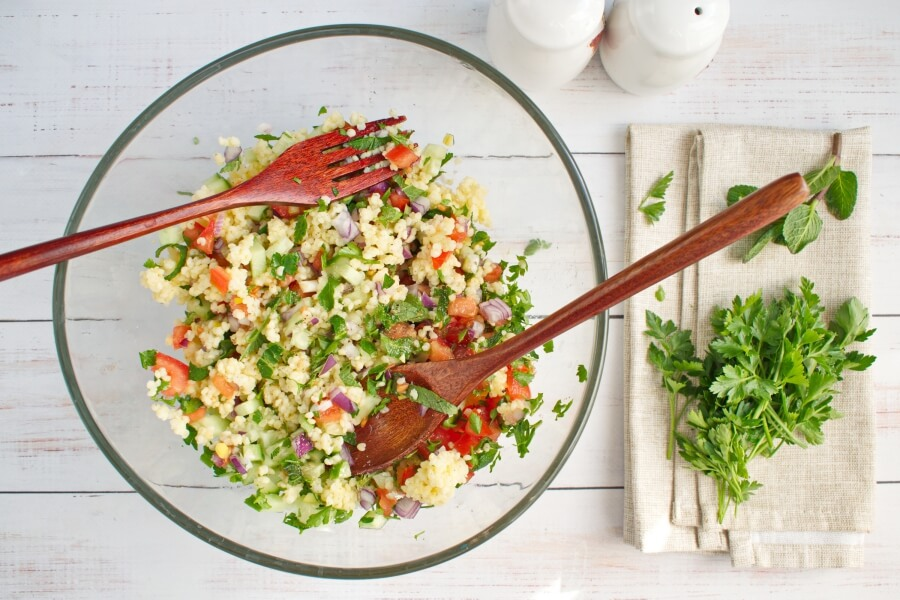 Gluten Free Millet Tabbouleh Salad recipe - step 4