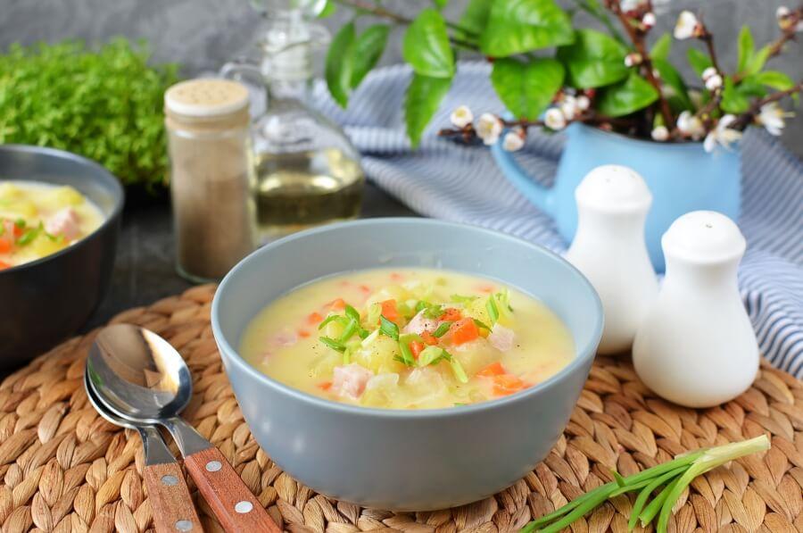 How to serve Ham and Potato Soup