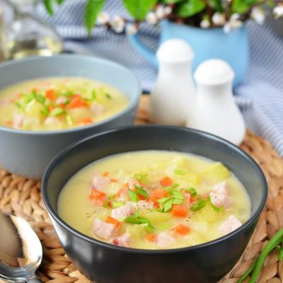 Ham and Potato Soup Recipe-How To Make Ham and Potato Soup-Delicious Ham and Potato Soup