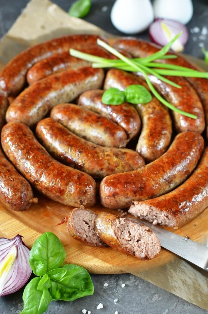 Homemade Sausages for the Barbecue and Grill
