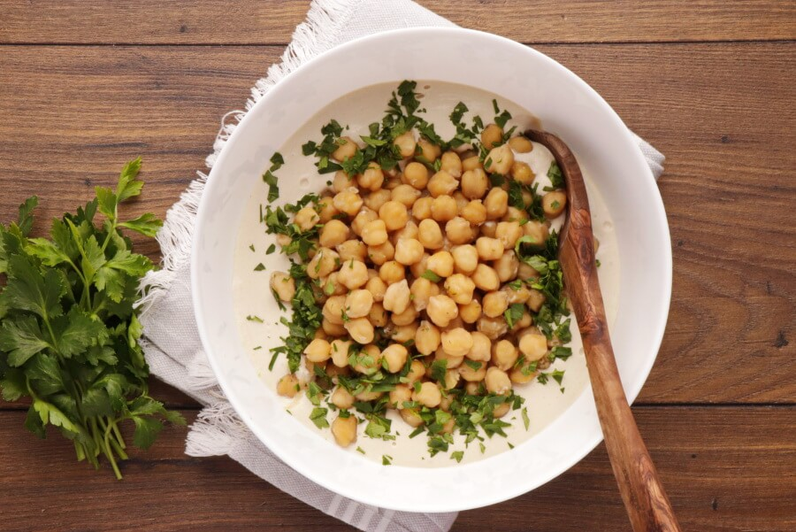 Hummus Masabacha recipe - step 6