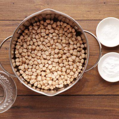 Hummus Masabacha recipe - step 1