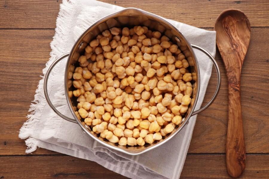 Hummus Masabacha recipe - step 2
