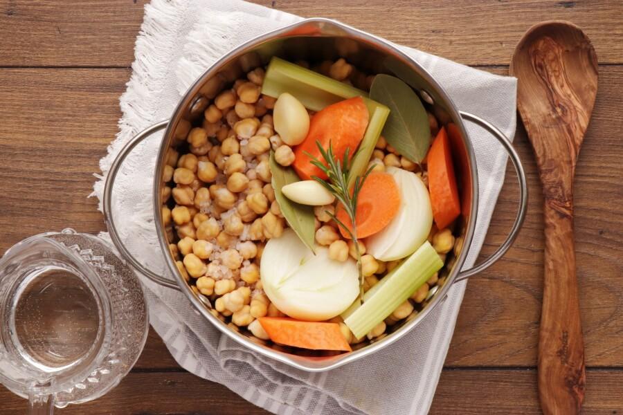 Hummus Masabacha recipe - step 3