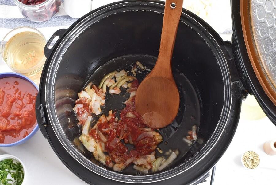 Instant Pot Vegetable Soup recipe - step 2