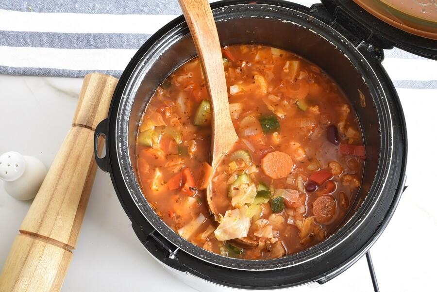 Instant Pot Vegetable Soup recipe - step 5