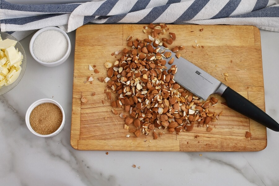 Italian Almond Tart recipe - step 3