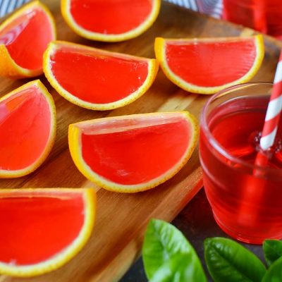 Jello Oranges Recipe-How To Make Jello Oranges Recipe-Easy Jello Oranges Recipe