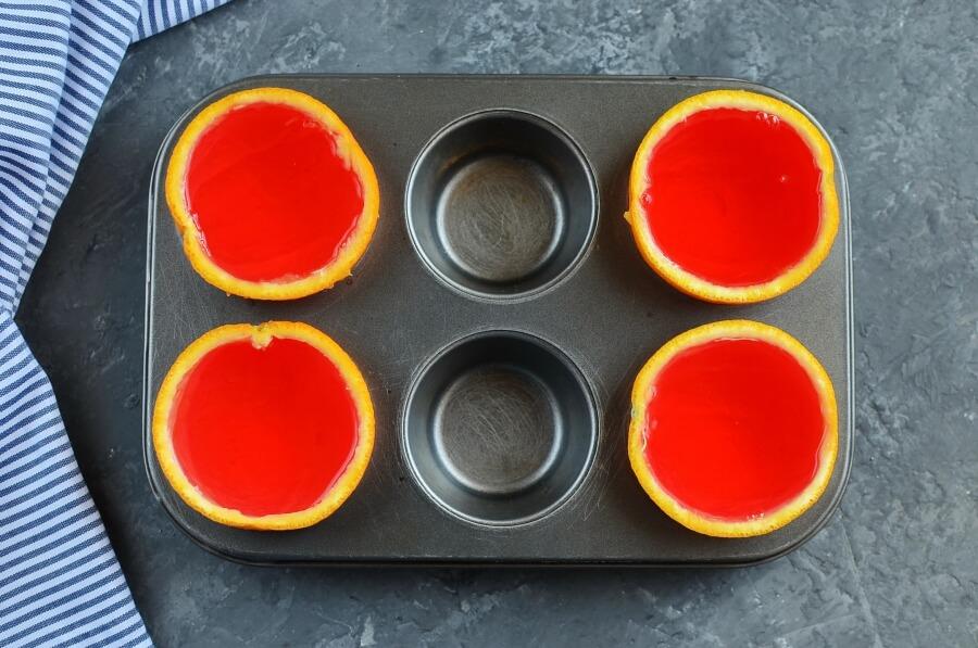 Jello Oranges recipe - step 4