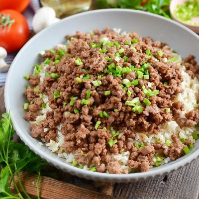 Korean Beef and Rice Recipe-How To Make Korean Beef and Rice-Delicious Korean Beef and Rice