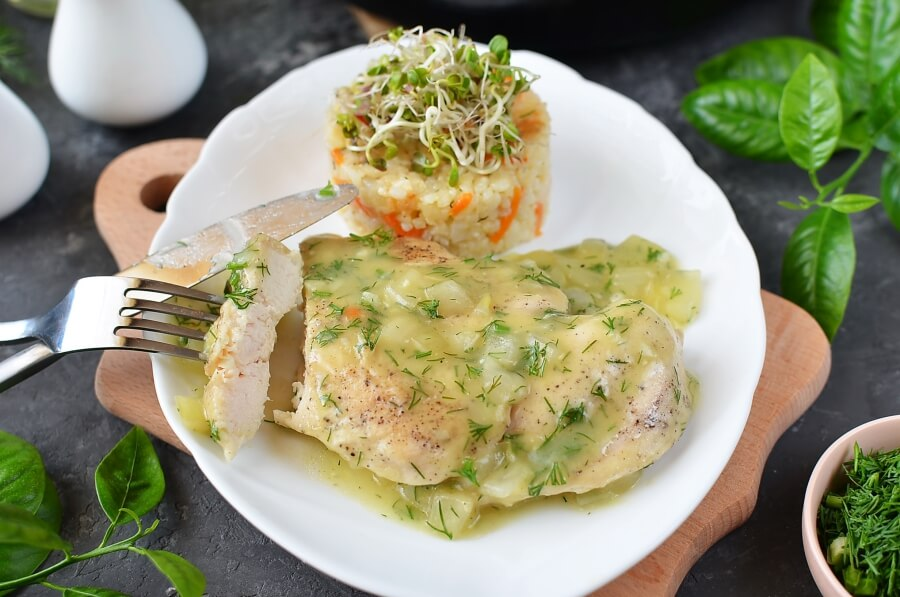 How to serve Lemon and Dill Chicken